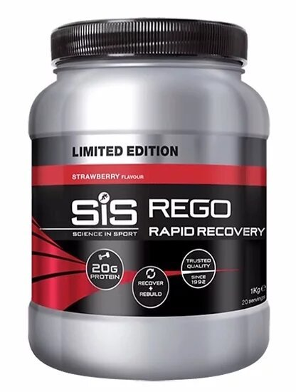 SiS REGO Rapid Recovery 1.0 кг Клубника (Великобритания)