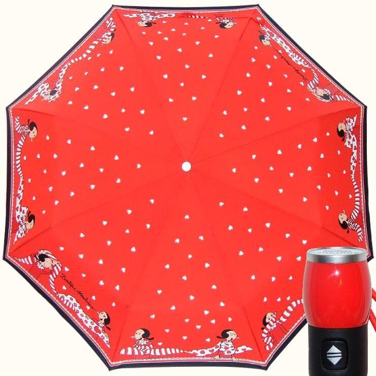 Зонт складной Moschino Boutique 7961-C Olivia Scarves