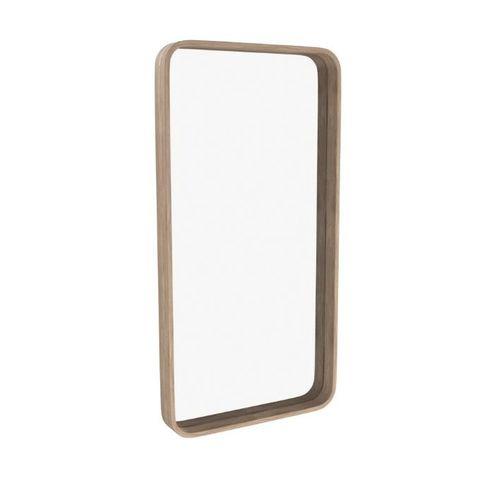 Зеркало прямоугольное Иконс (беленый дуб)