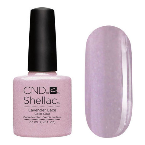 UV Гелевое покрытие CND Shellac Lavender Lace 7,3 мл
