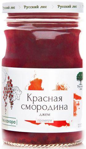 """Джем """"Русский лес"""". Красная смородина 220 г. Премиум. Интернет магазин чая"""