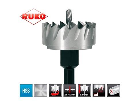 Коронка по металлу 12х10мм HSS-G S=8мм Ruko 128012 (В)
