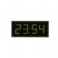 Часы электронные 408-G, цвет свечения зеленый 0,3Кд, 320x140x65мм