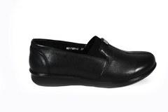 Кожаные туфли на комфортной подошве