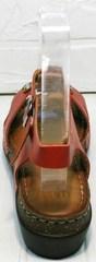 Кожаные сандалии женские на платформе Rifellini Rovigo 375-1161 Rad.
