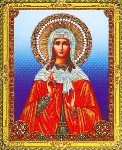 Алмазная Мозаика 40x50 Икона Святая София (арт. LP278)