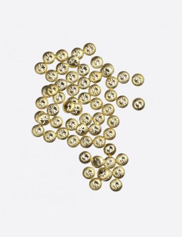 ARTEX Диск шлифованный с узором золото 3х3мм