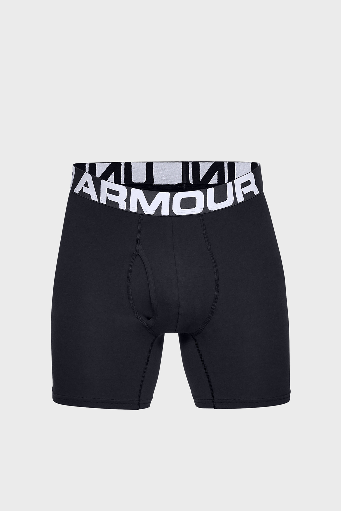 Мужские черные трусы-боксеры (3 шт) Charged Cotton 6in 3 Pack Under Armour