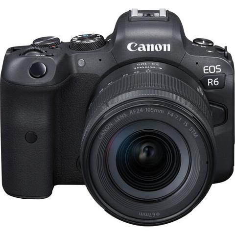 Беззеркальный цифровой фотоаппарат Canon EOS R6 RF 24-105 F4-7.1 IS STM KIT