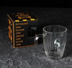 Кружка Непробиваемая с болтом, для пива, 500 мл, фото 1