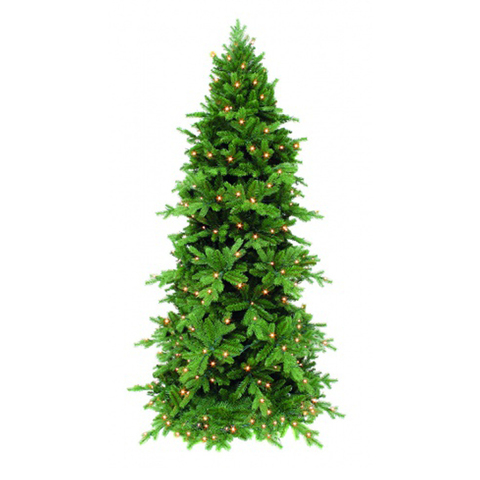 Сосна Triumph Tree Изумрудная 230 см с огоньками