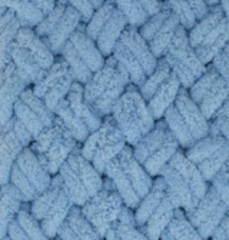 Пряжа Puffy Alize 280 Средне-синий фото
