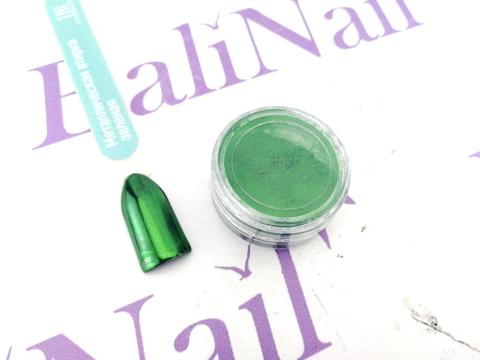 Металлическая втирка TNL (зелёная)