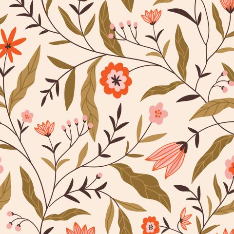 Китайский цветочный орнамент