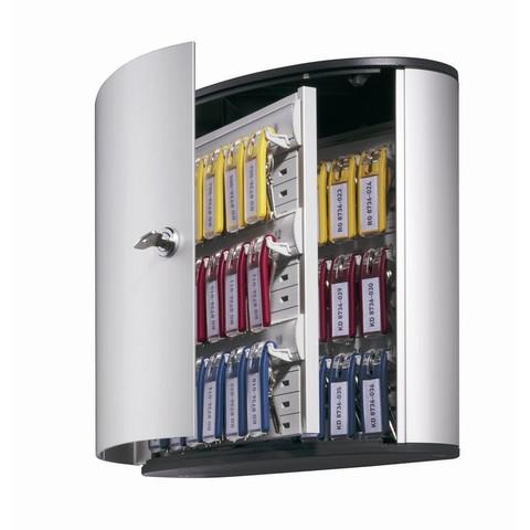 Шкаф для ключей Durable 1952-23 серый (на 36 ключей, алюминий)