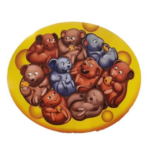 Пазл Мышки в сыре, ToySib