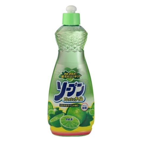 Kaneyo Средство для мытья посуды, овощей и фруктов свежий лайм 600 мл