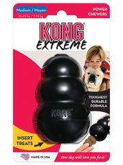 Игрушка для собак KONG Extreme M очень прочная средняя 8х6 см