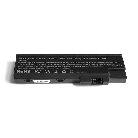 Аккумулятор для Acer 3000 5000 (11,1V 4400mAh)
