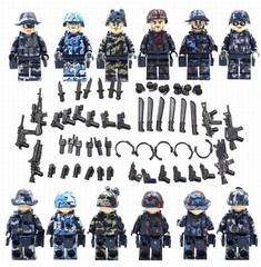 Минифигурки Военных Полиция SWAT серия 304
