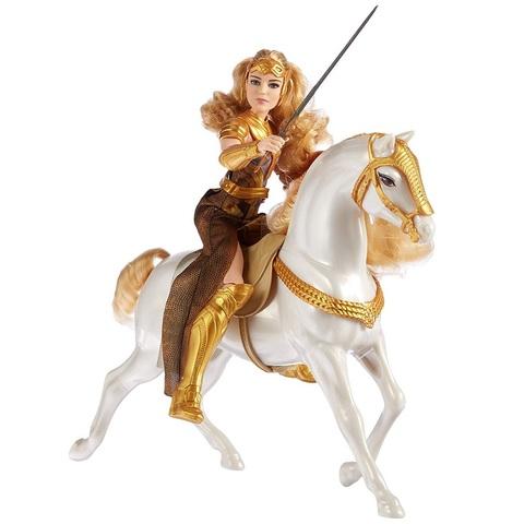 Королева Ипполита с лошадью