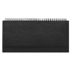 Планинг недатированный Attache Agenda искусственная кожа 64 листа черный (290х150 мм)