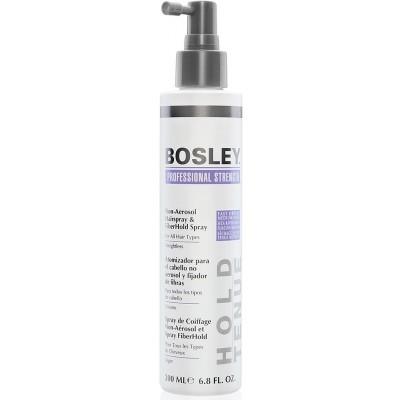 Bosley PRO Кератиновые волокна: Спрей для фиксации кератиновых волокон (Non-Aerosol Hairspray & FiberHald Spray), 200мл