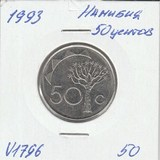 V1796 1993 Намибия 50 центов