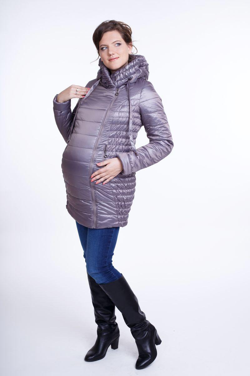 Куртка для беременных 05178 коричневый