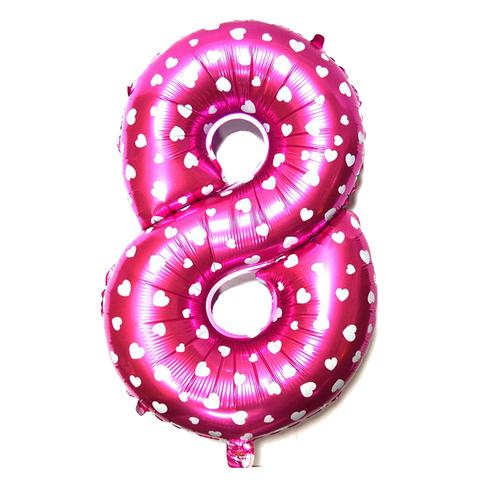 Цифры Розовый, 102 см