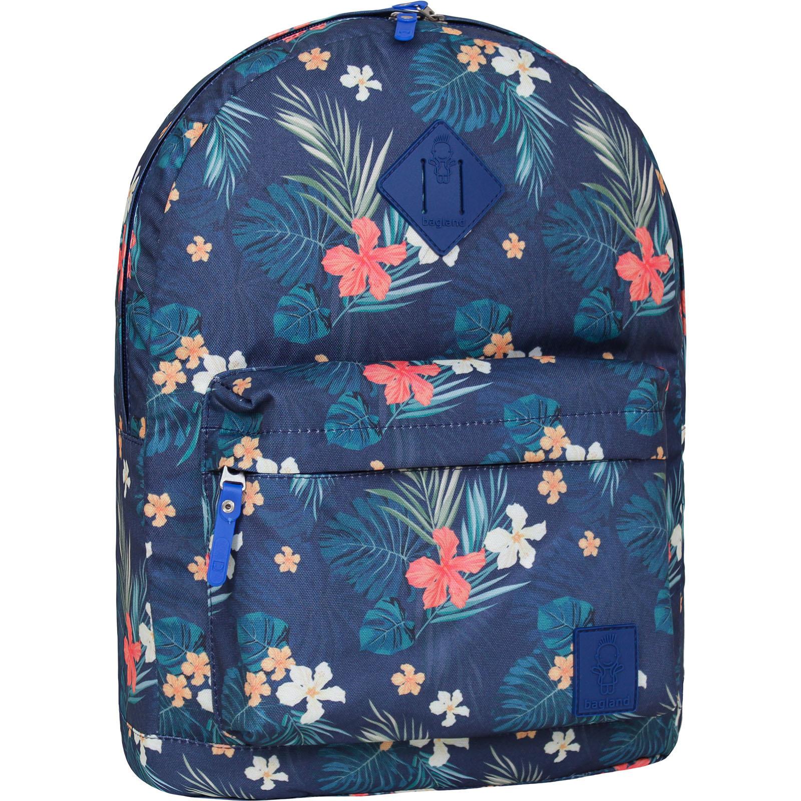 Городские рюкзаки Рюкзак Bagland Молодежный (дизайн) 17 л. сублимация (цветы) (00533664) IMG_6055-1600.jpg