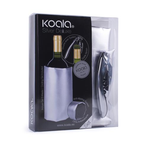 Набор для вина Deluxe серебряный