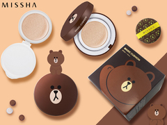 Кушон для лица Missha Line Friends Magic Cushion SPF50 /PA, 15 мл+15 мл