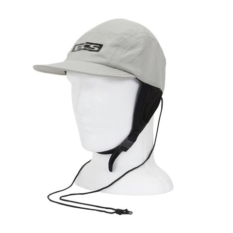 FCS Essential Surf Cap Hat Light Grey MD