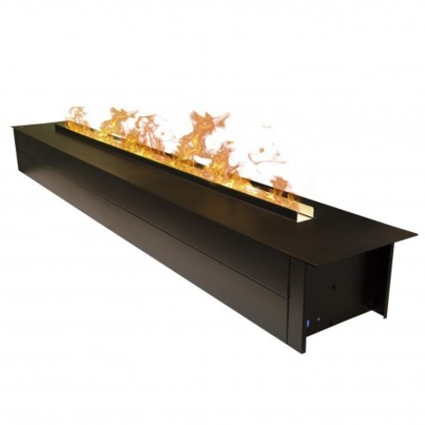 Электрокамин Line-S 150 3D Matte Black (150 см)