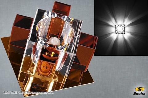 1028/A G9 GD+TEA светильник точ.