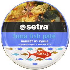 Паштет из тунца Setra, 80 гр