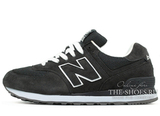 Кроссовки Мужские New Balance 574 Premium Suede Dark Grey