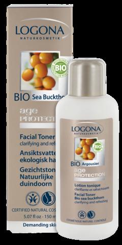 LOGONA Age Protection Тоник для лица против морщин с Био-Облепихой