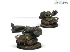 Traktor Muls. Regiment of Artillery and Support