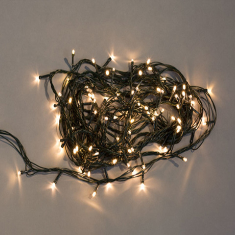 Электрогирлянда 180 белых LED огней