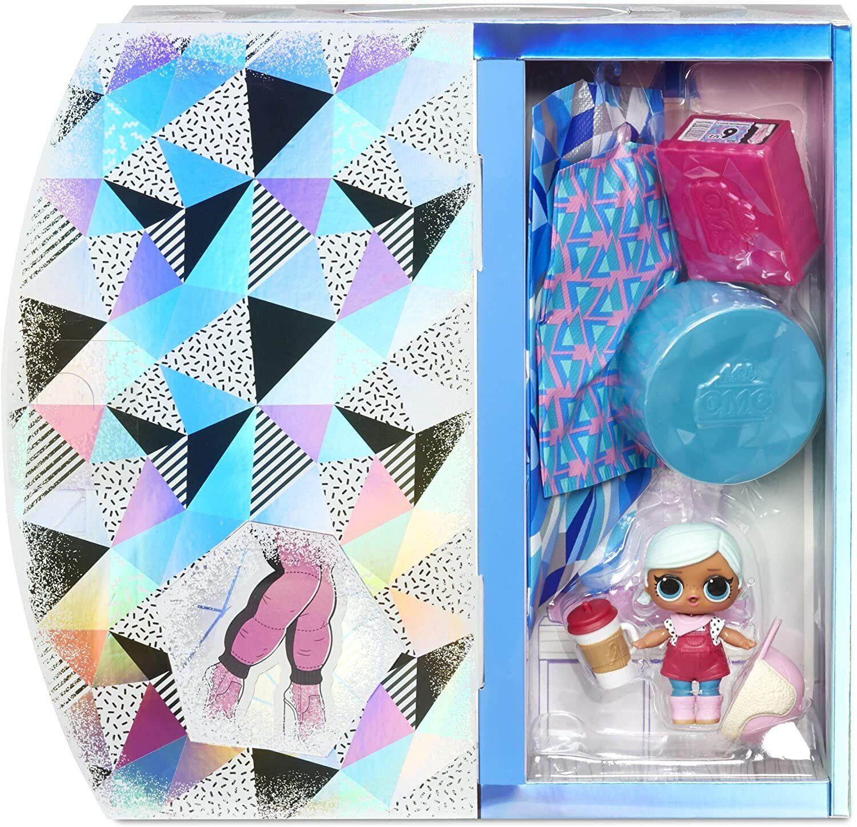 Игровой набор L.O.L. Surprise! O.M.G. Winter Chill Icy Gurl Fashion Doll & Brrr B.B. Doll, 570240