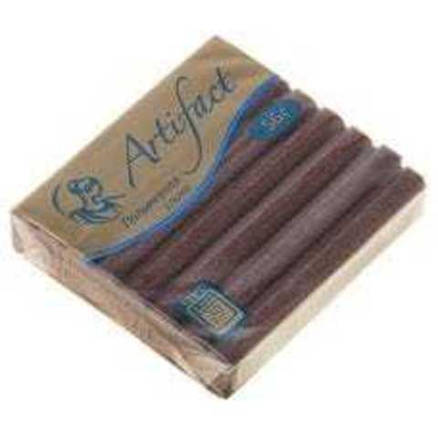 Полимерная глина Artifact (Артефакт) брус 56 гр. шоколадный с блестками