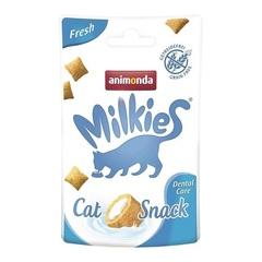 Лакомство для кошек TitBit Animonda Milkies Fresh, для заботы о полости рта взрослых кошек
