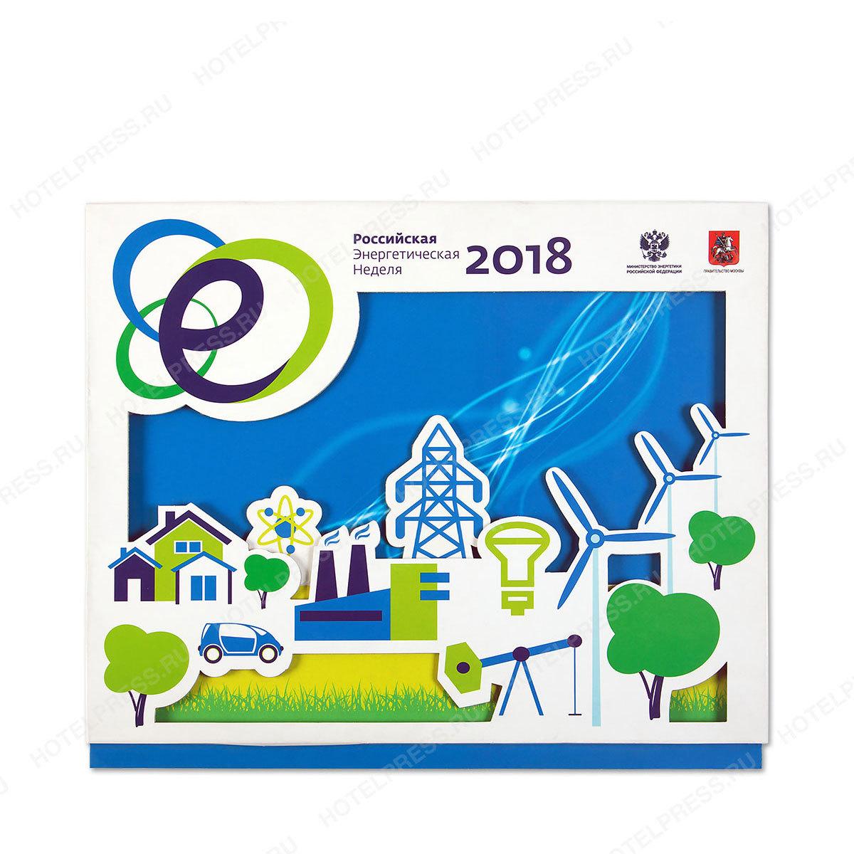Календарь с объемным 3D постером
