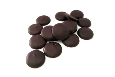 Глазурь шоколадная Callebaut, темная, диски 500гр