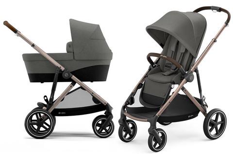 Детская коляска Cybex Gazelle S 2 в 1 TPE Soho Grey