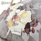 Сумка Саломея 278 акварель цветы