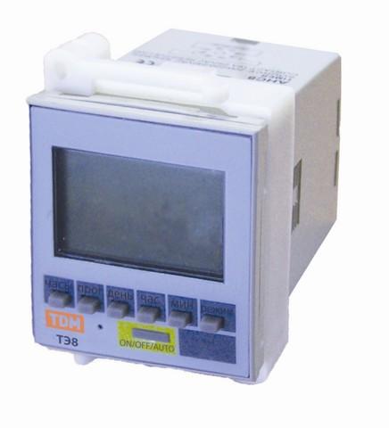 Таймер электронный ТЭ8-1мин/7дн-8on/off-16А-8Ц/Щ TDM