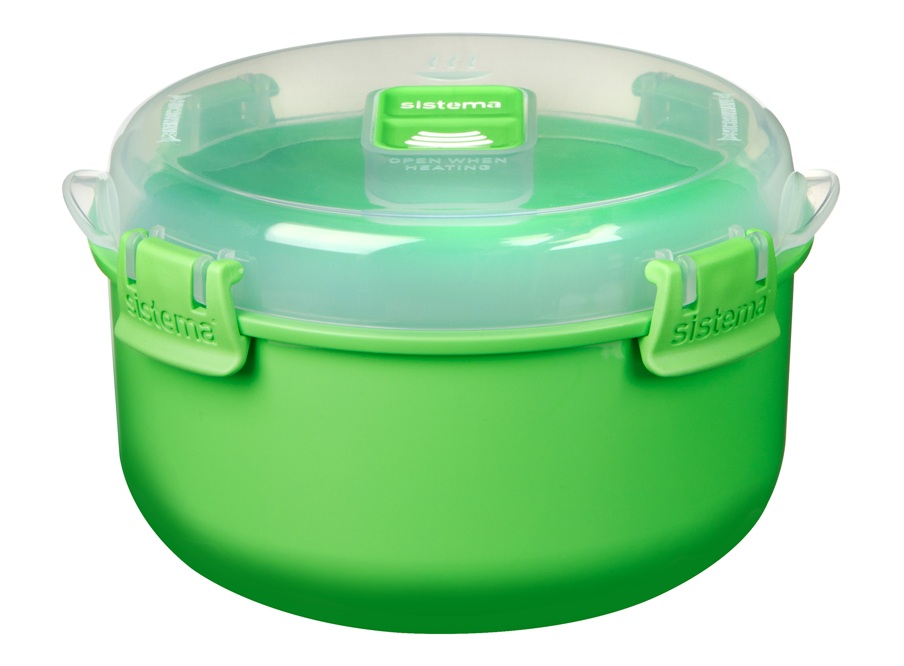 "Контейнер для СВЧ Sistema ""Microwave"" 915 мл, цвет Зеленый"